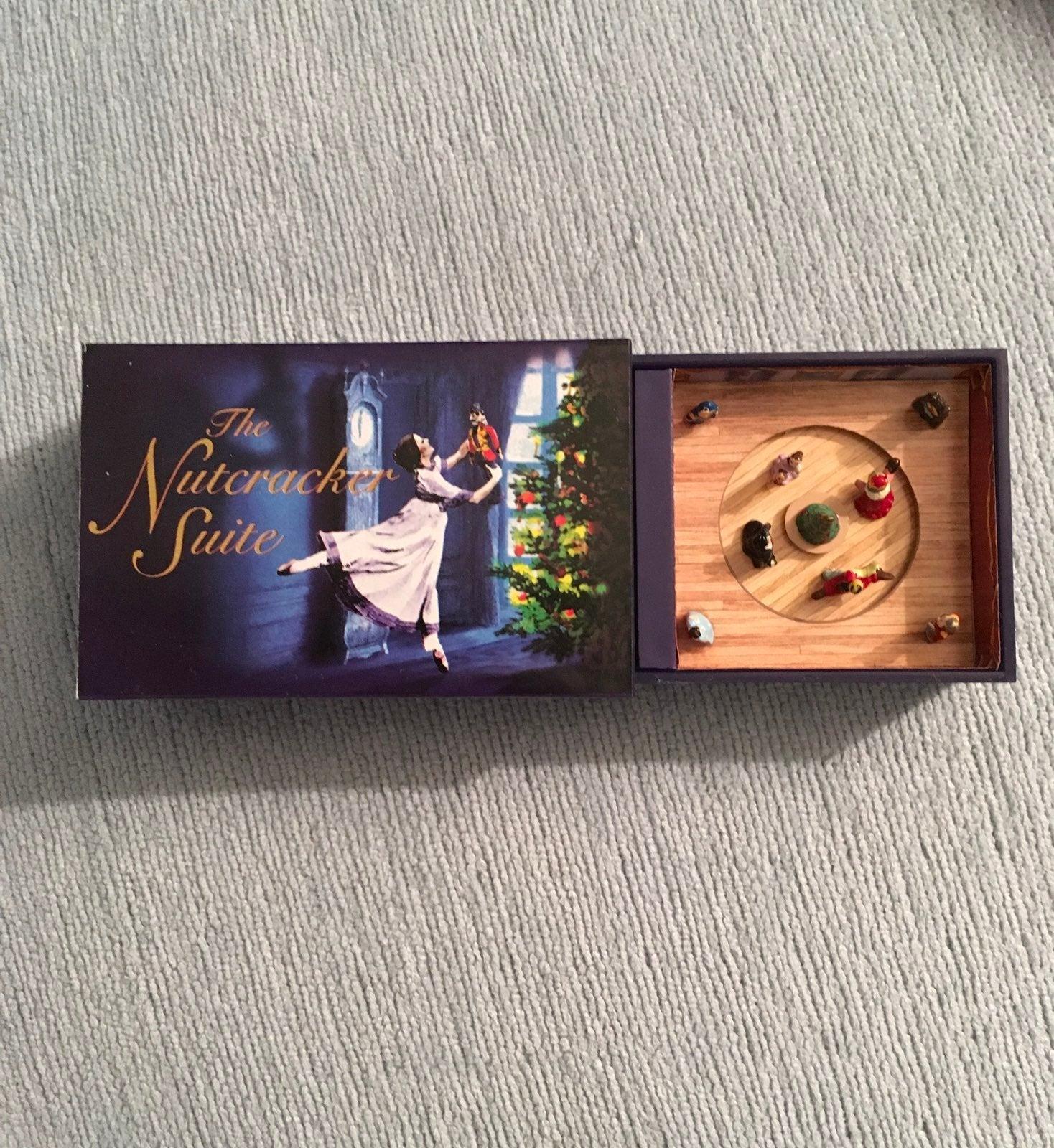 Nutcracker Suite Matchbox Music Box