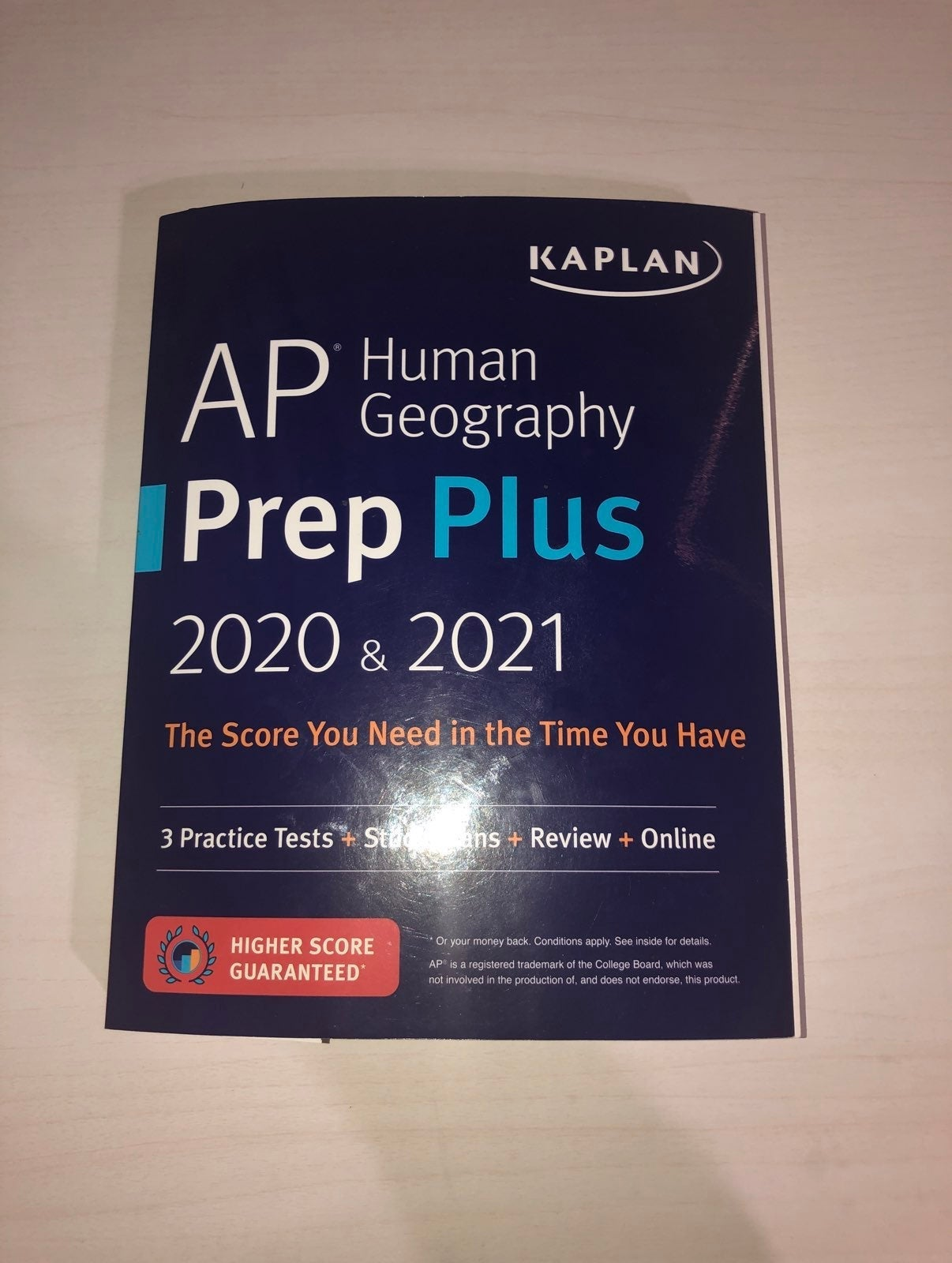 Kaplan AP Prep Plus Book