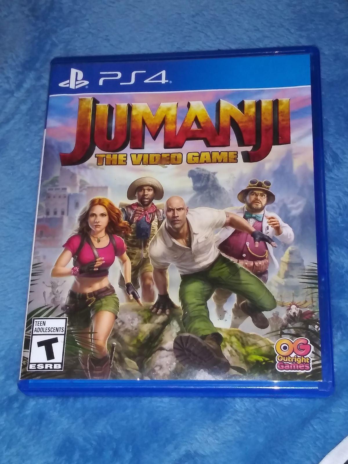 Ps4 Jumanji Game