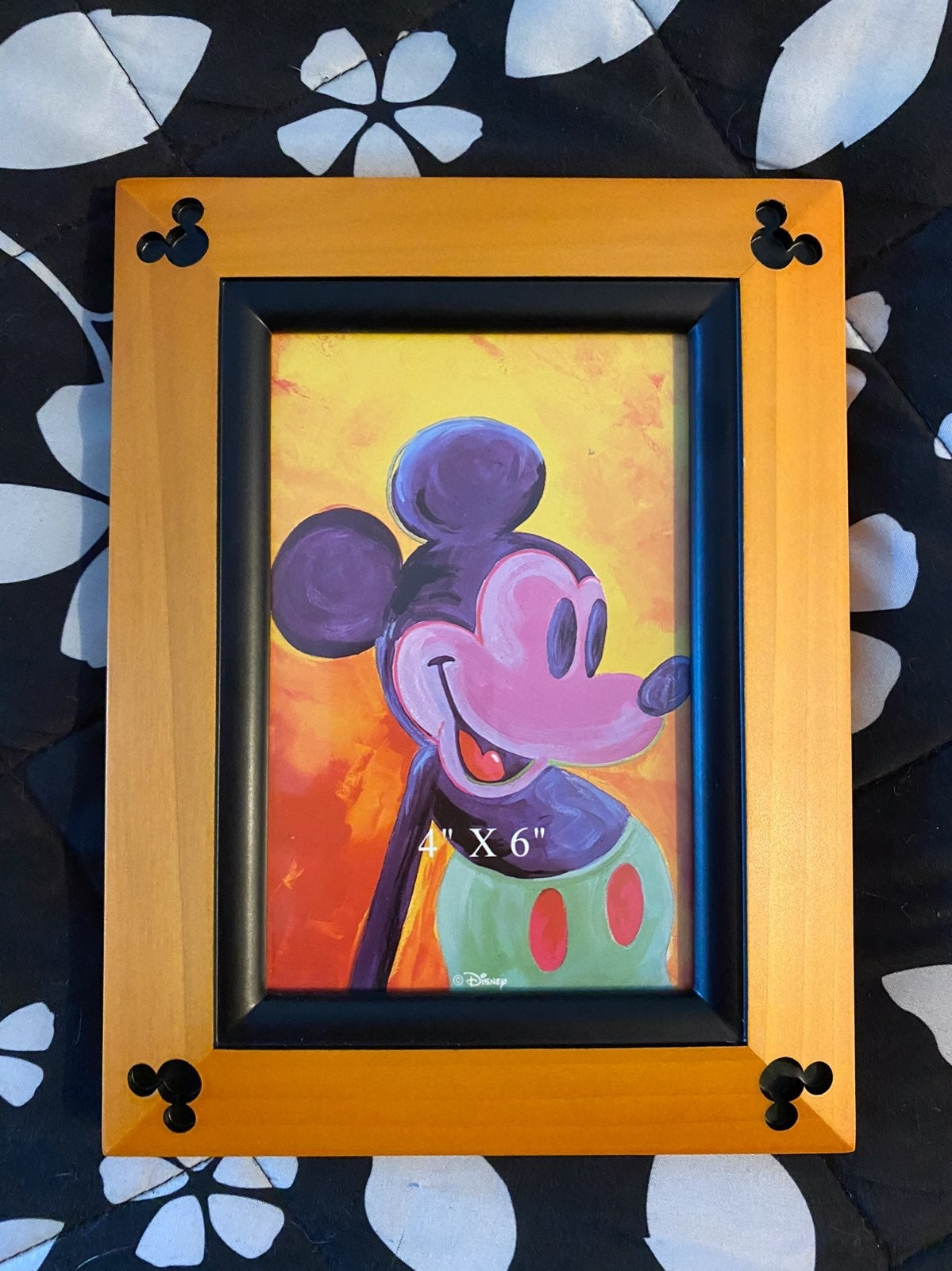Disney Wooden Picture Frame with Embosse