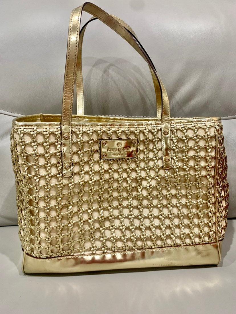 Kate spade New York gold bag