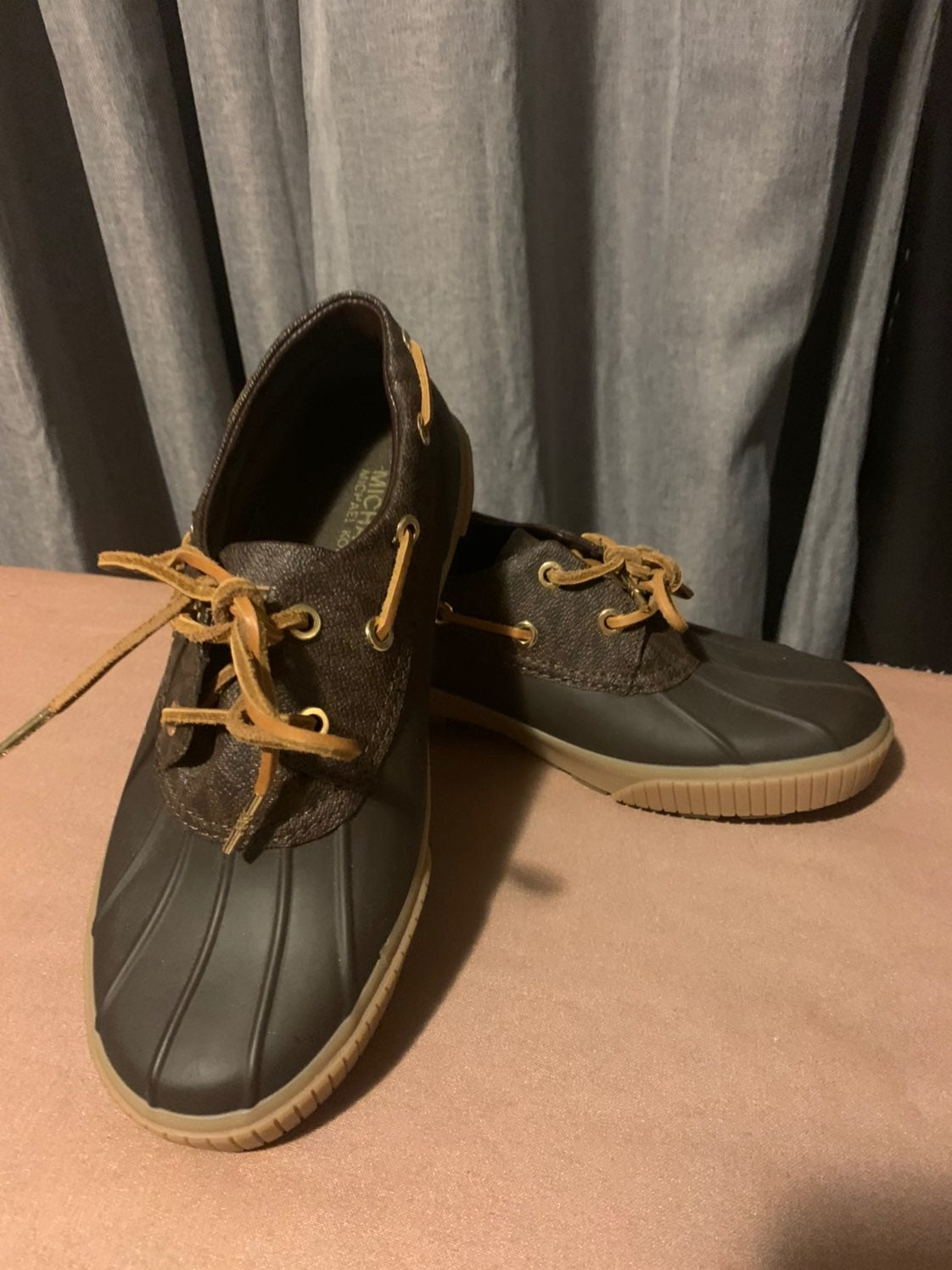 michael kors duck shoes size 6 5 women