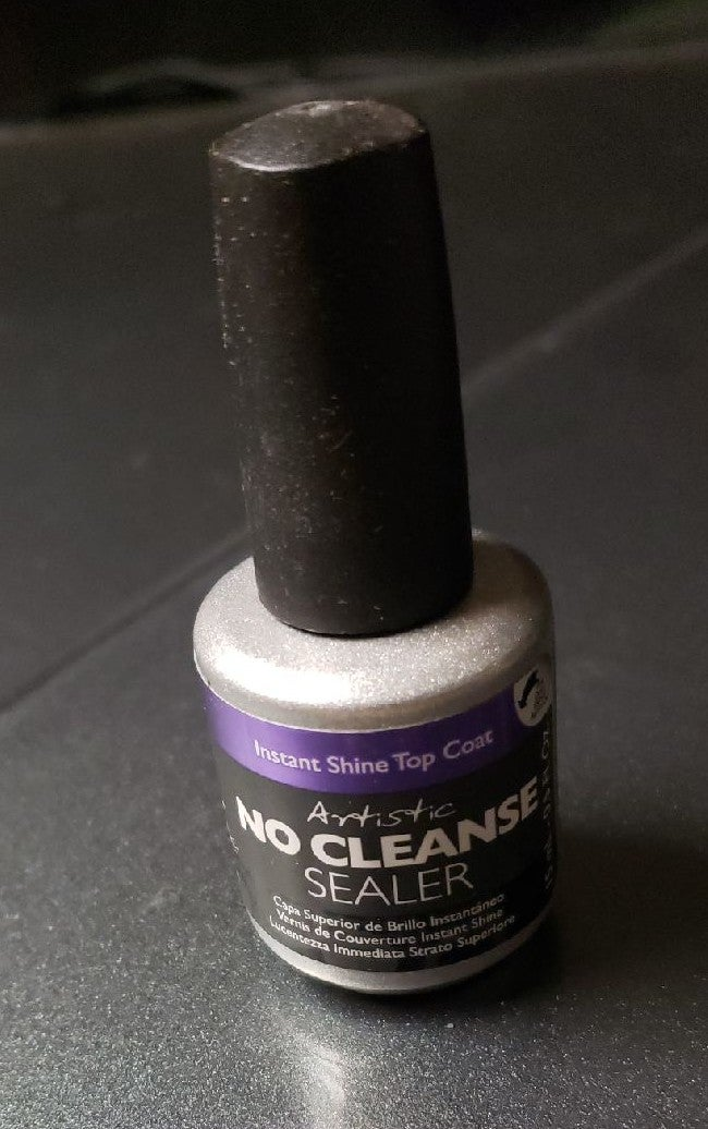 NEW Artistic Shine Top Coat No Cleanse S
