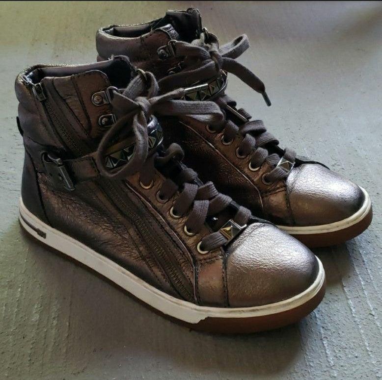 Michael Kors High Top Sneakers - 7.5
