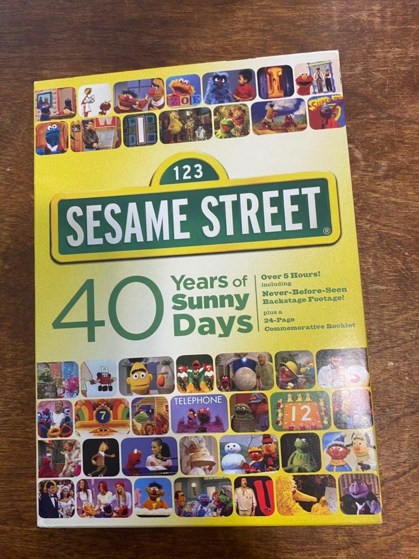Sesame Street 40 Years of Sunny Days DVD