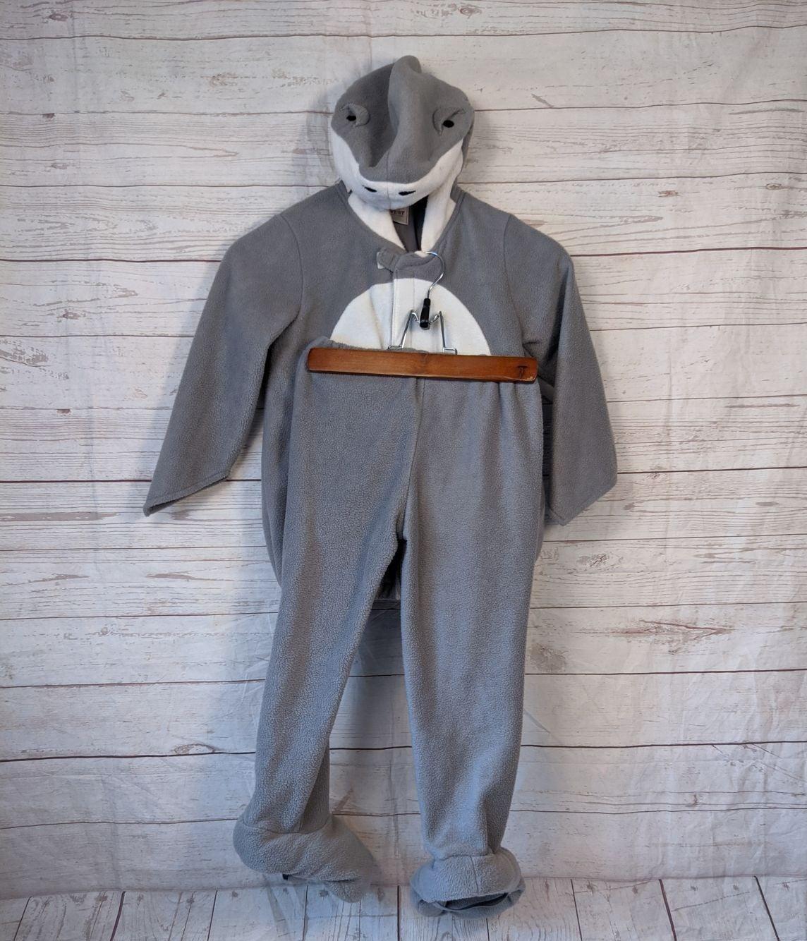 Fleece Toddler Shark Costume 4/5