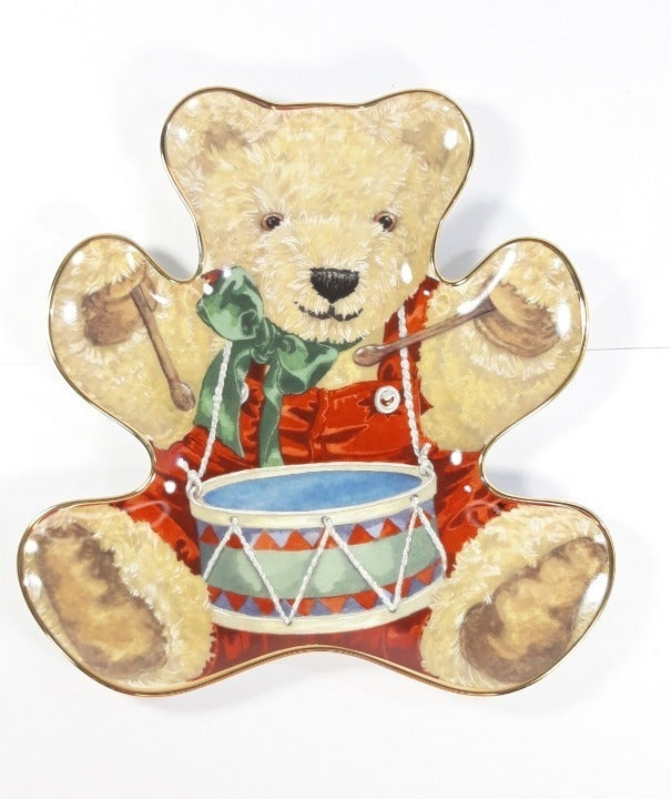 Franklin Mint Little Drummer Bear Plate