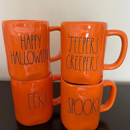 Rae Dunn HALLOWEEN mug bundle