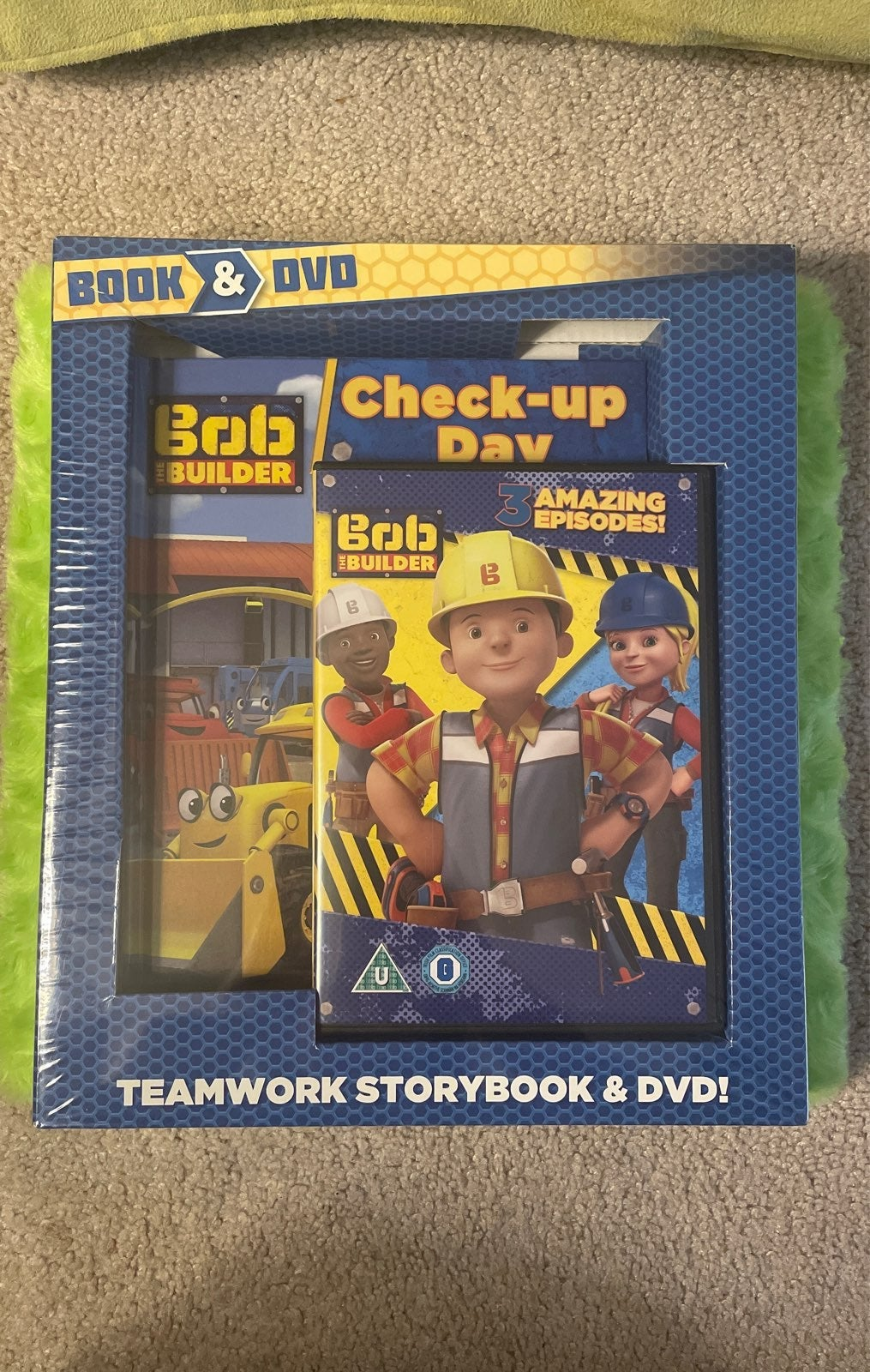 Bob the Builder Storybook & DVD set NEW