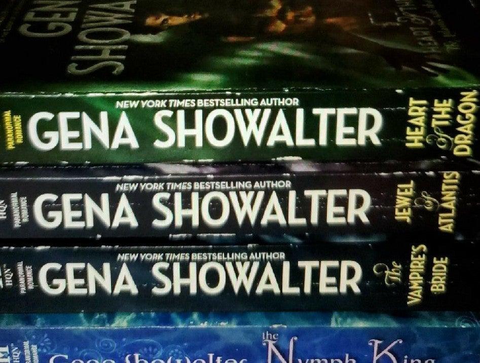 Gena Showalter Atlantis Book Set
