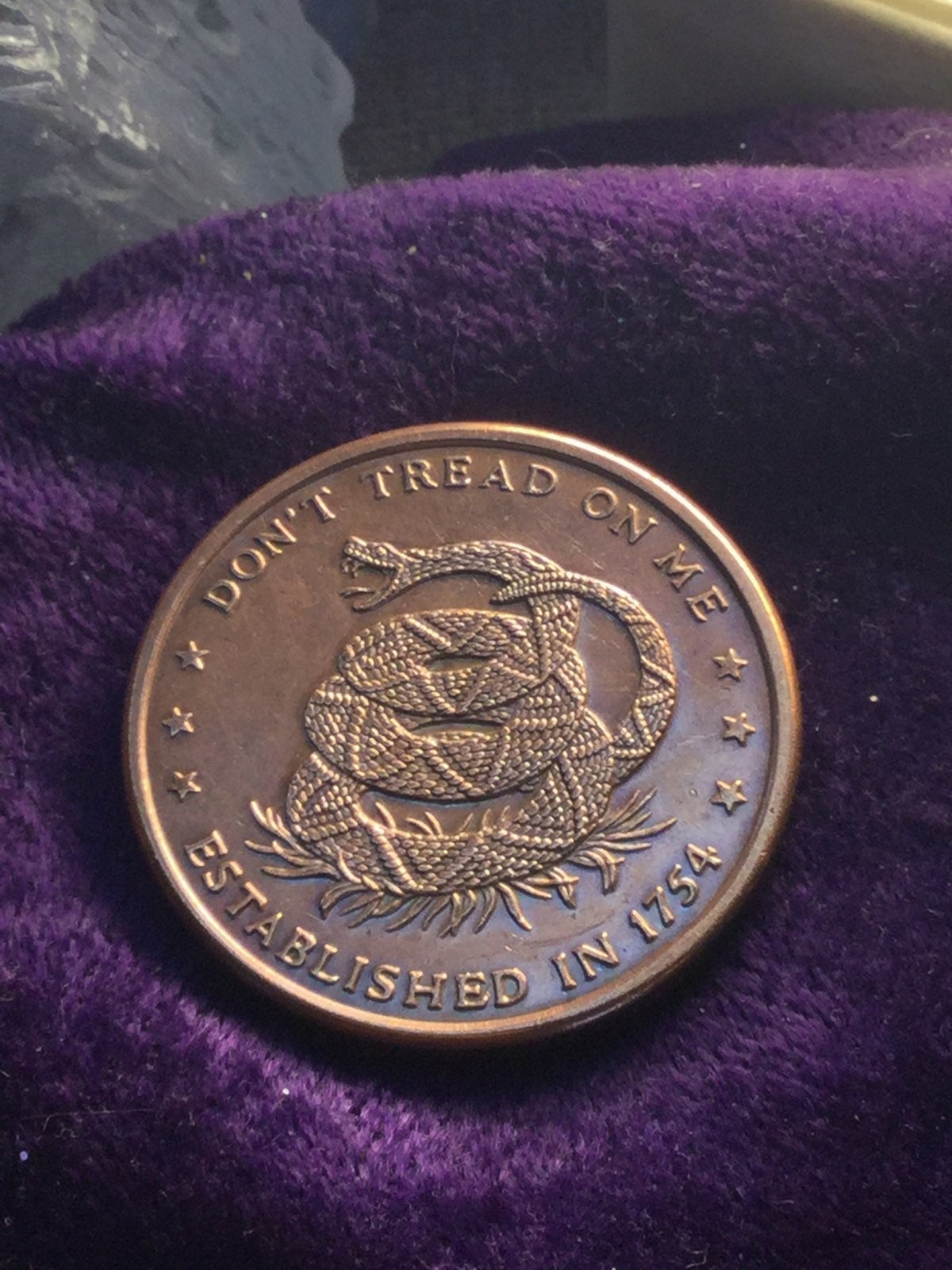 Don't Tread on Me Price of Liberty Coin