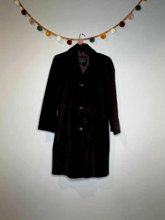 Vintage Express brown leather jacket