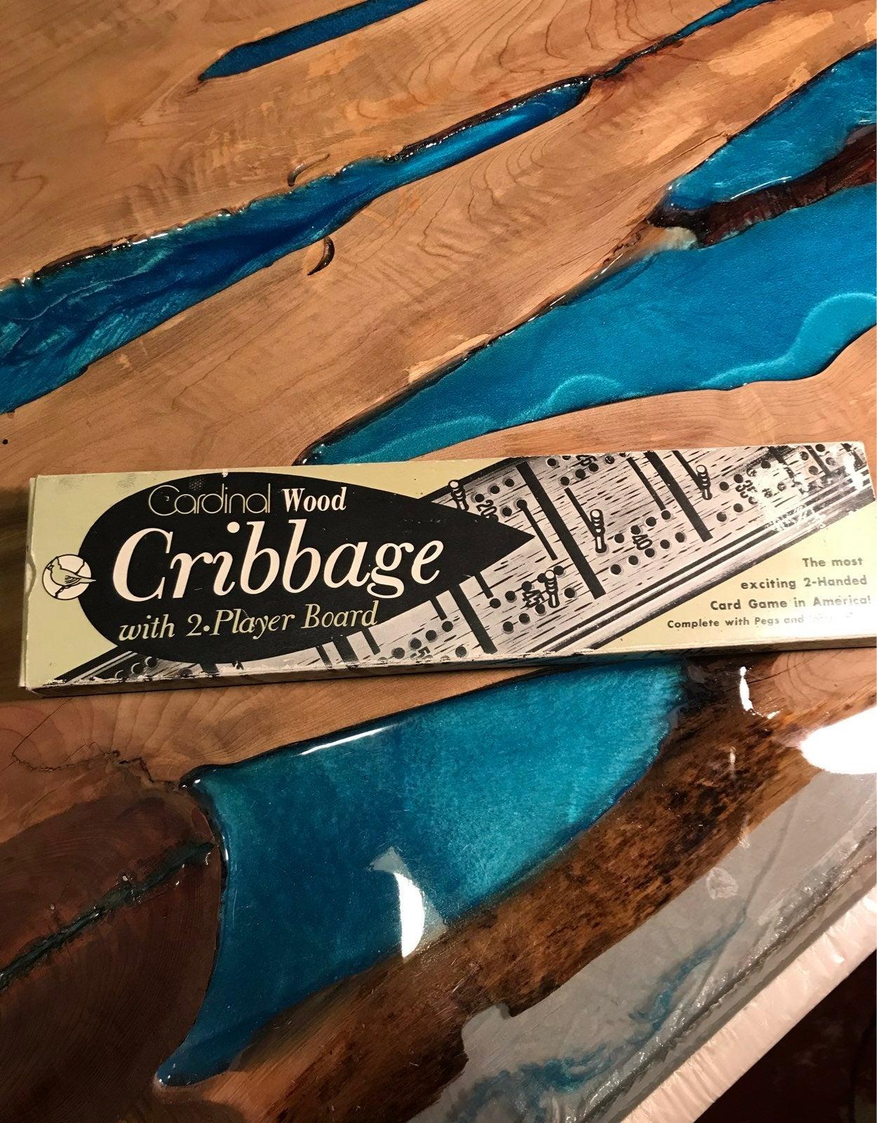Cardinal Wood Cribbage Game