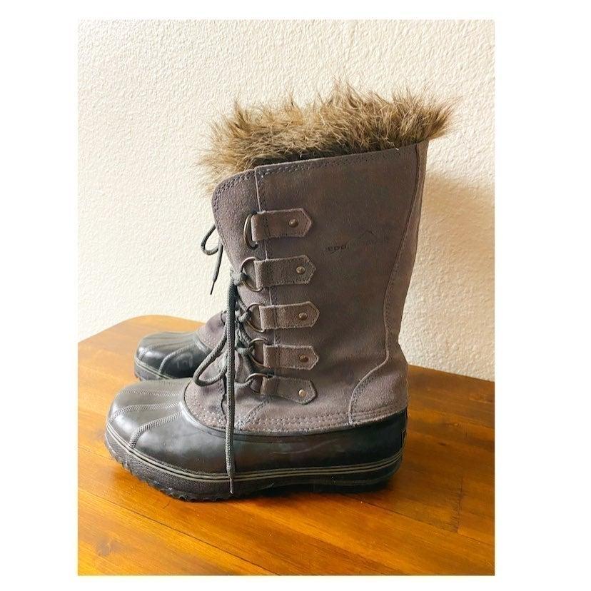 Eddie Bauer snow boots waterproof 10