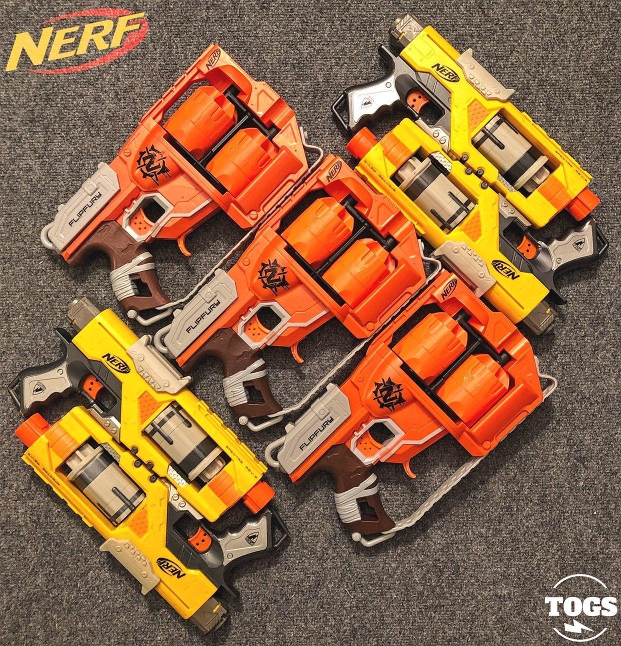 NERF ZombieStrike FlipFury Spectre REV-5