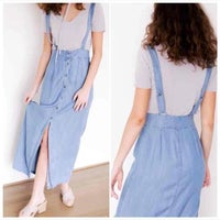 18a10bb2c999 Pinafore Dresses | Mercari