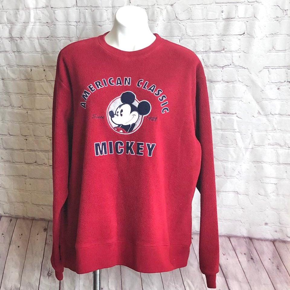 Disney Sweatshirt Crewneck Long Sleeve