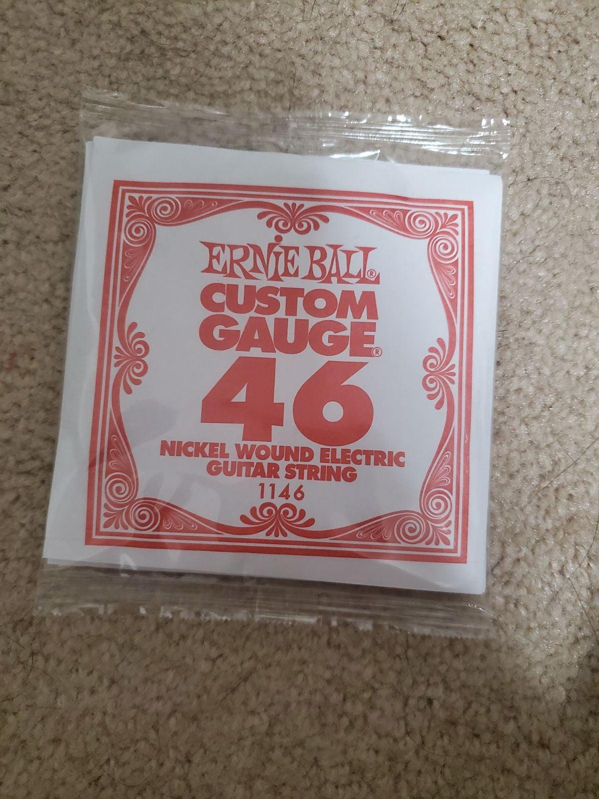 Custom 46 gauge electric guitar strings