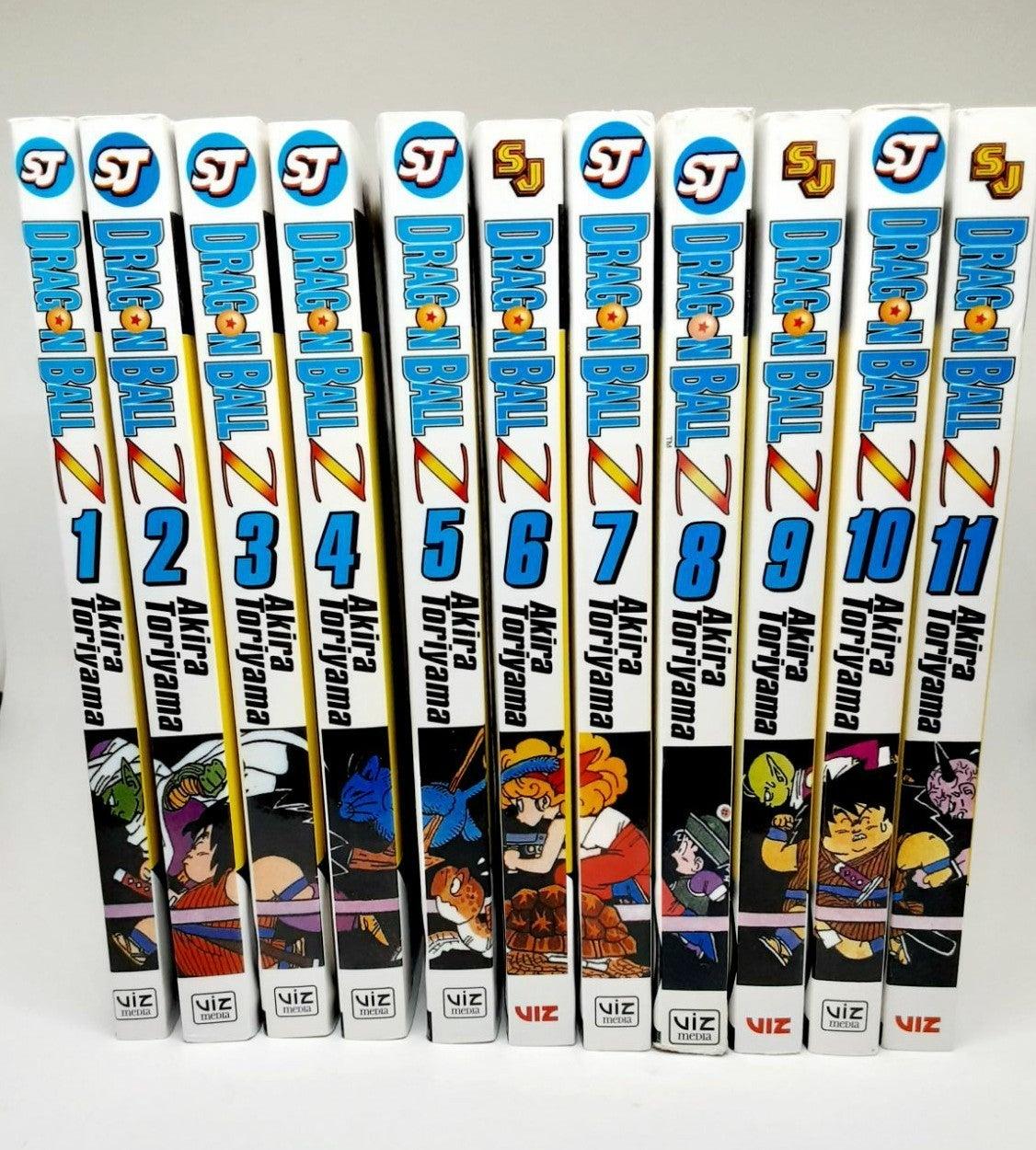 11 Volume DBZ Manga Lot