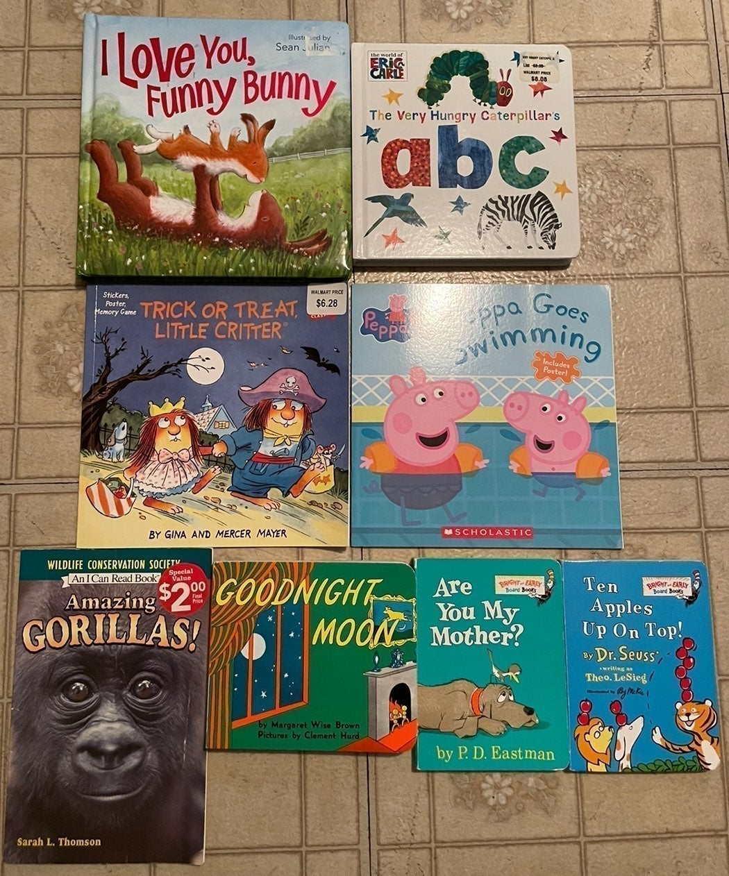Children's Books , Lot of 8