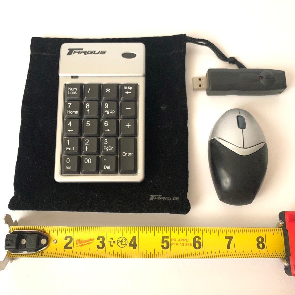 Targus Wireless Numeric Keypad & Mini Mo