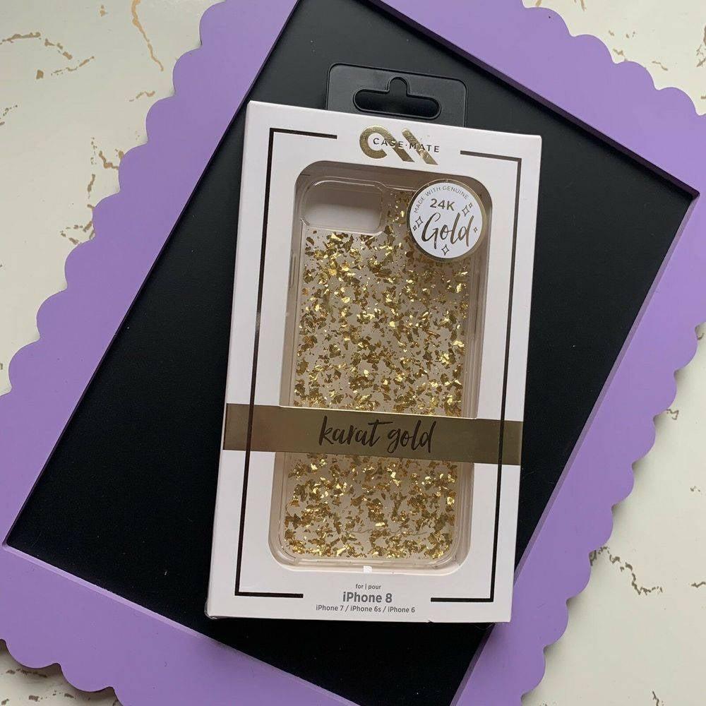 Case Mate 24 Karat Gold iPhone 8 Case
