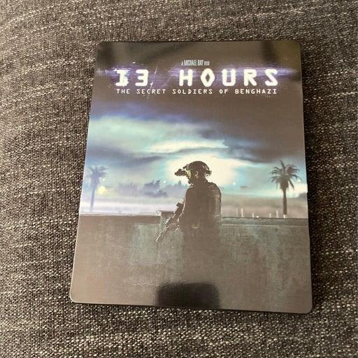 13 hours Blu Ray steelbook