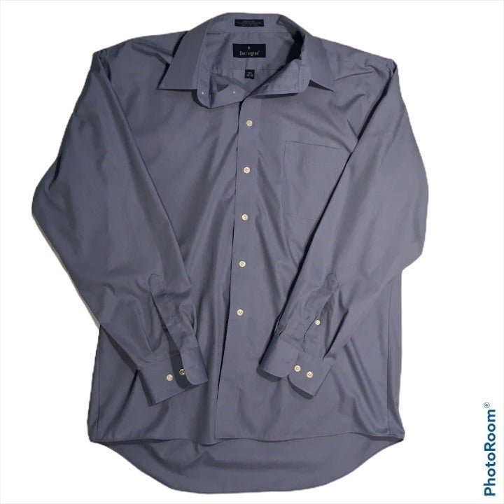 BARRINGTON MEN'S 16.5, 34/35 DRESS SHIRT