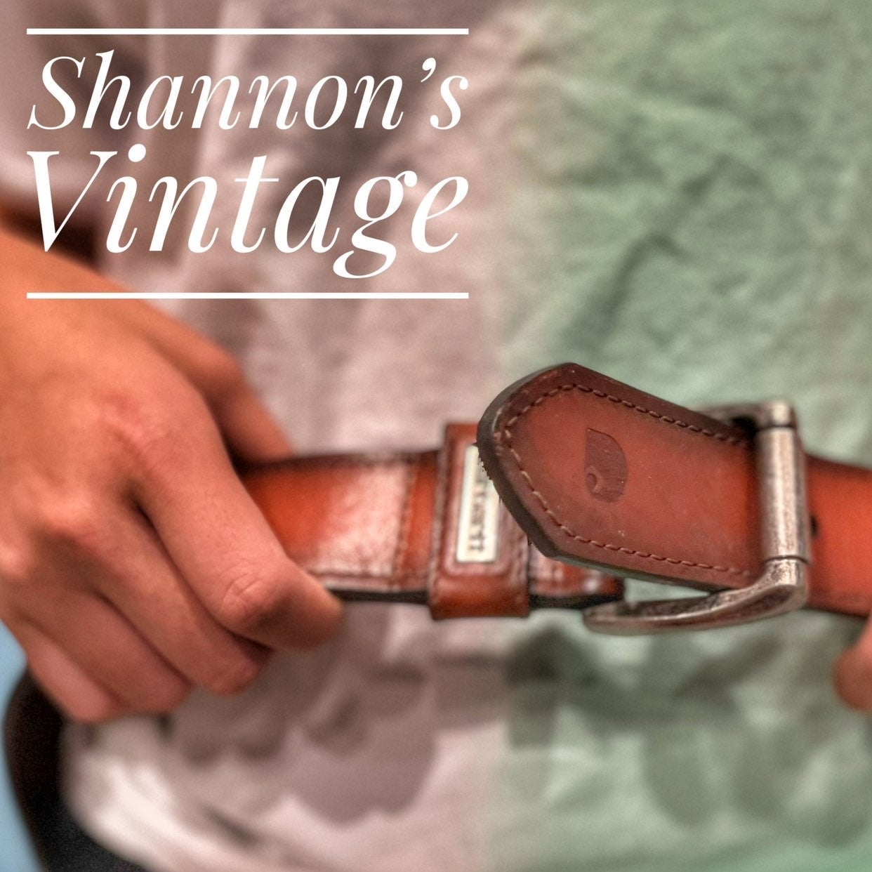 Carhartt sz 44 leather belt