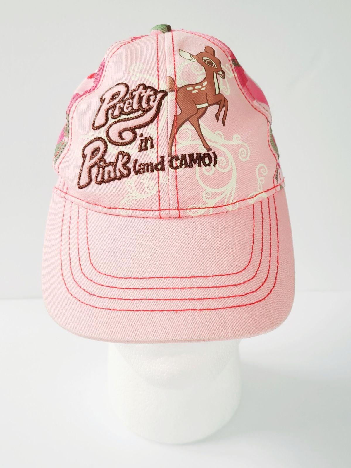 Buck Wear Women's Pink Camo Bambi Hat