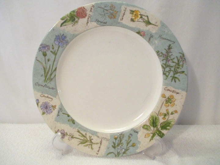 "Royal Doulton 11"" Plates Wildflowers"