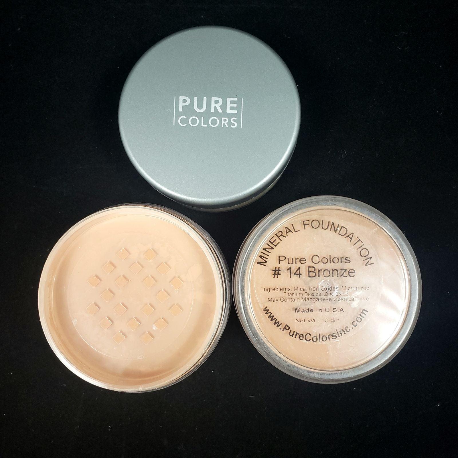 Pure Color #14 Bronze Mineral Foundation