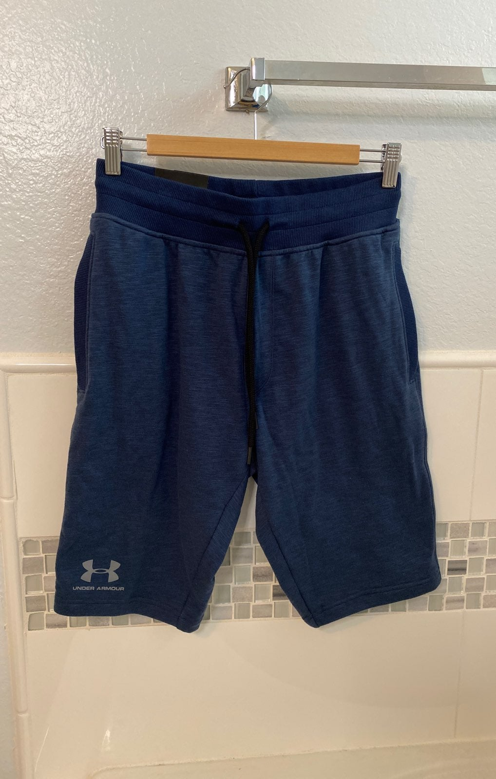 NWT Heather Navy Under Armour Shorts