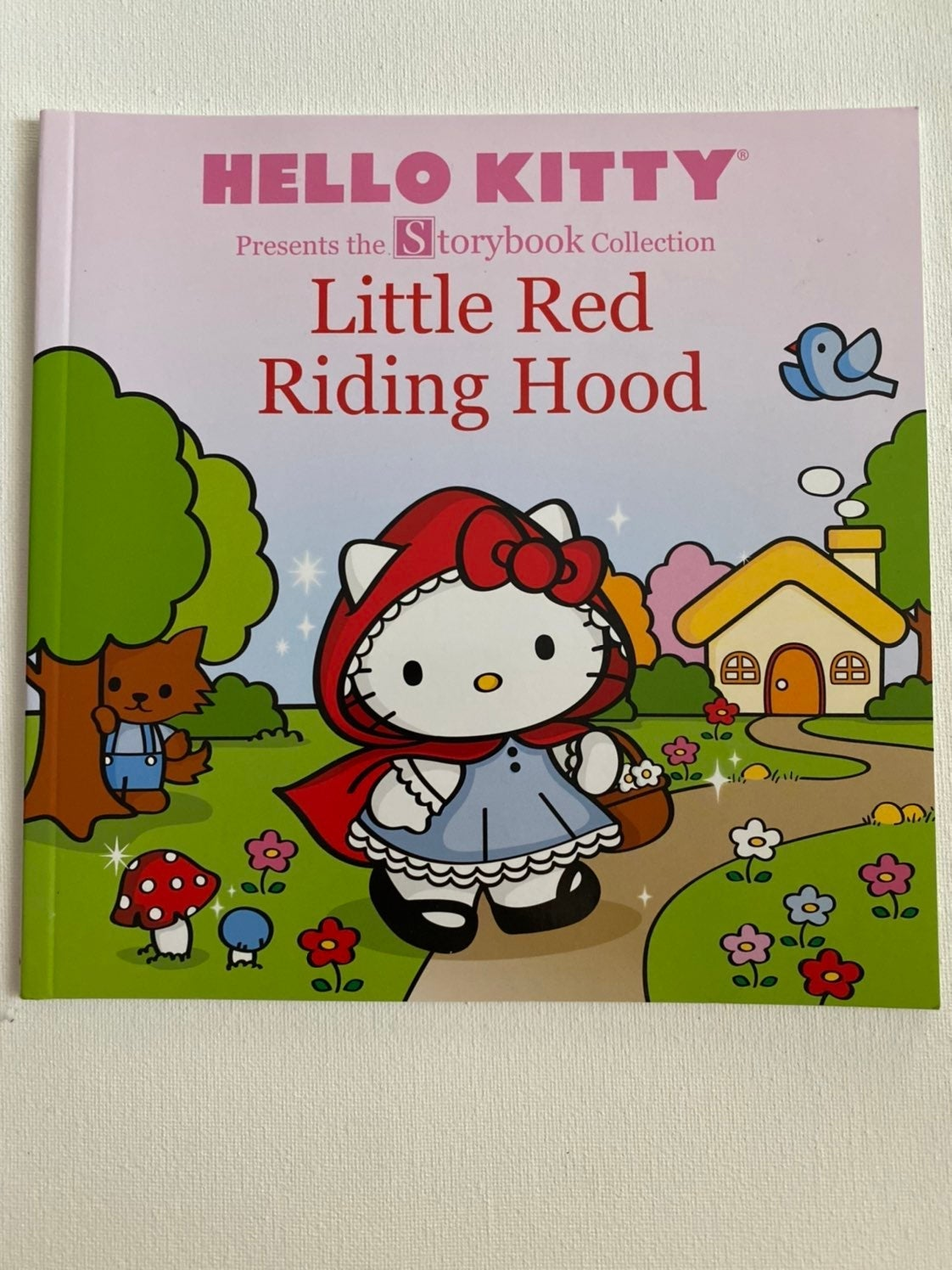 Hello Kitty Little Red Riding Hood Book