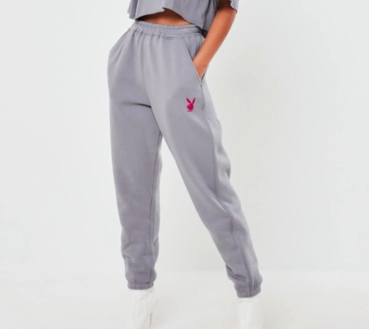 playboy x missguided jogger