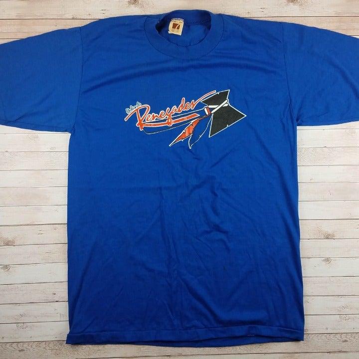 VTG 80s Orlando Renegades USFL Tee Shirt