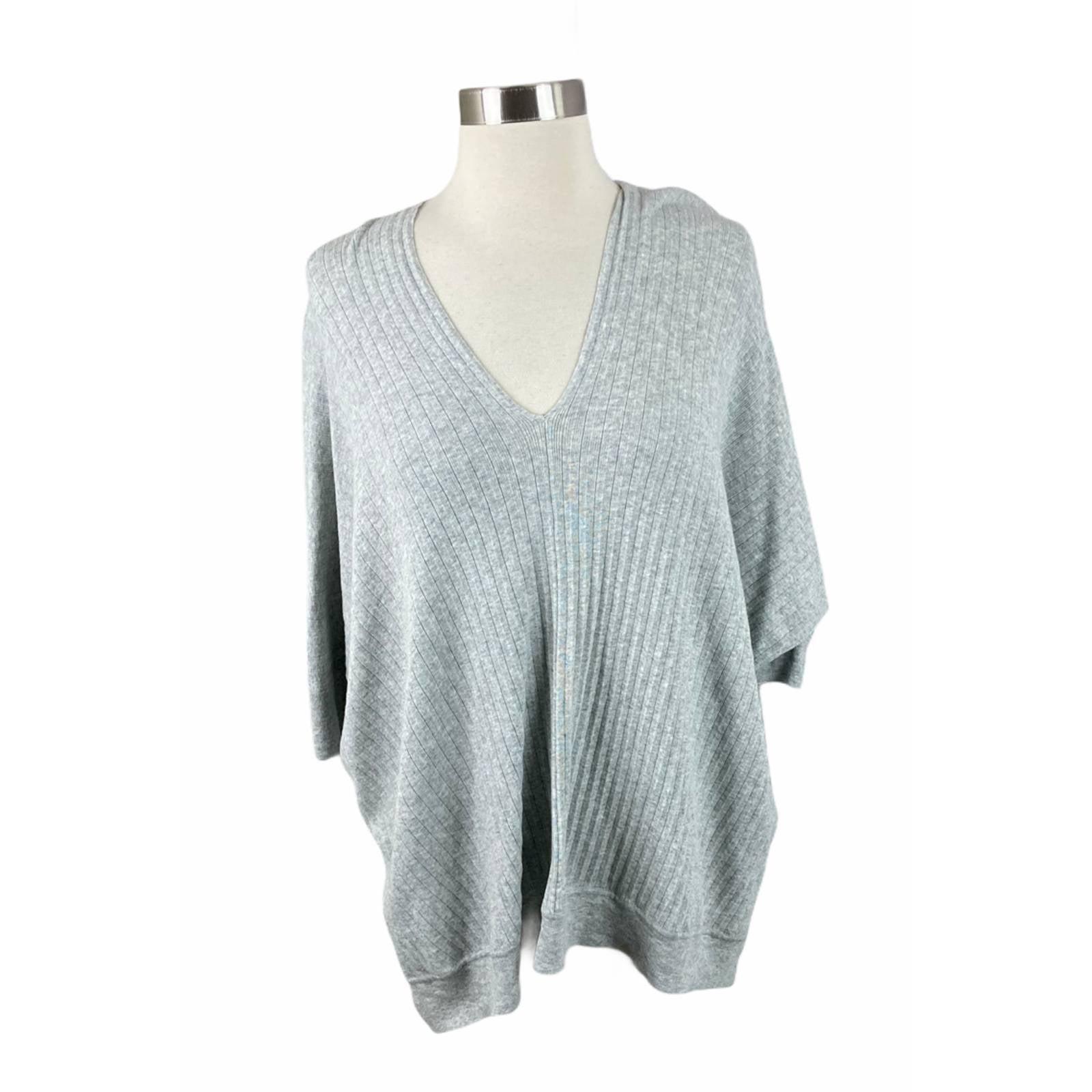 CAbi S Watson Ribbed Hi Low Sweater 5451