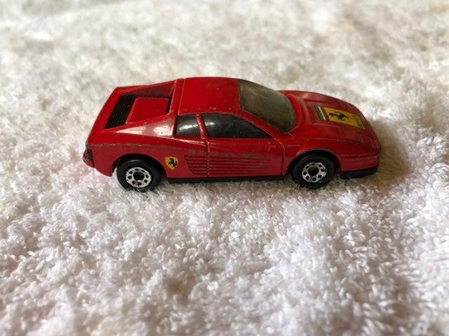 Matchbox 1986 Red Ferrari