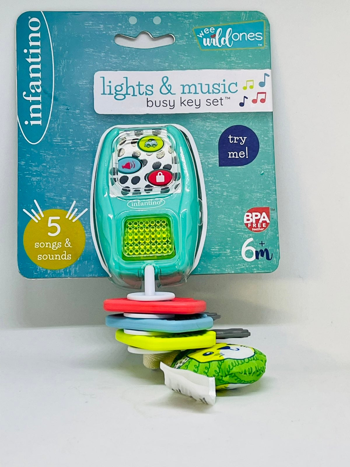 Infantino Music and Lights Key Ring