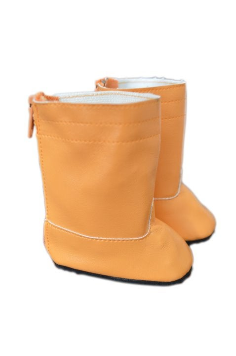 Mustard Boots for American Girl Dolls
