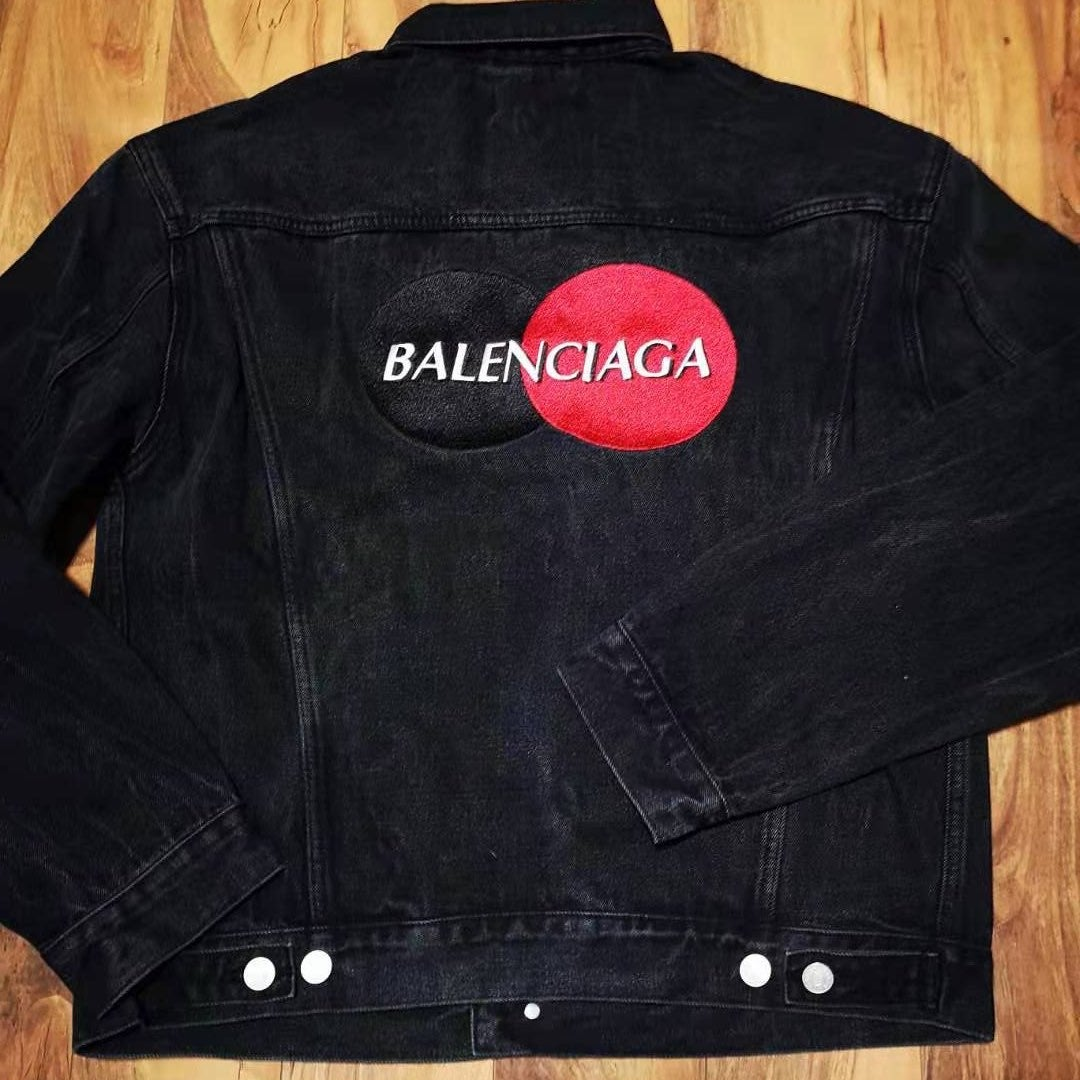 Balenciaga denim jacket size 46