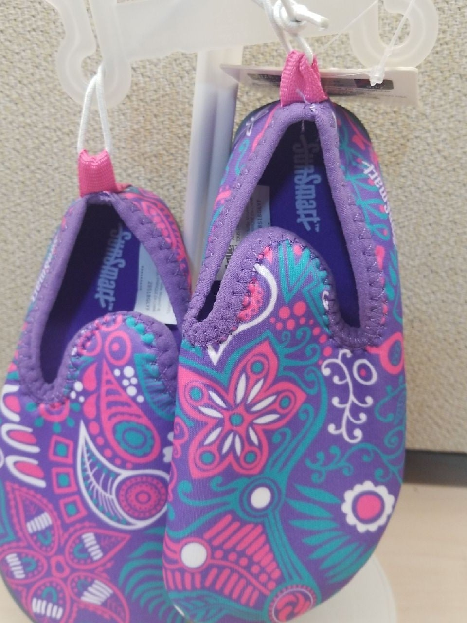 Sun Smart water shoes for little girl