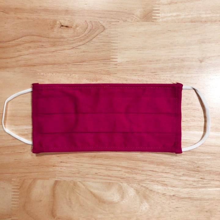 Cotton face mask NEW! adult fuschia pink