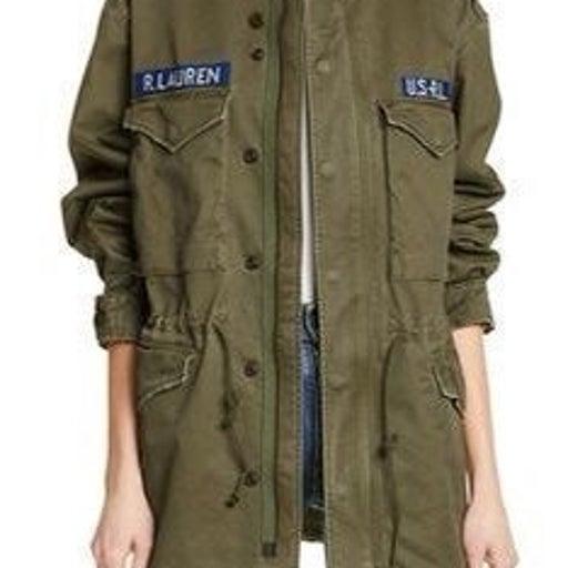 Polo Ralph Lauren Twill Military-Jacket