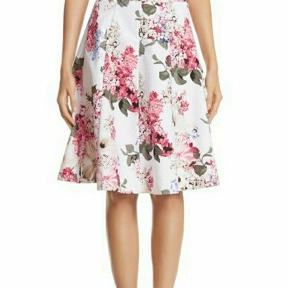 WHBM floral skirt