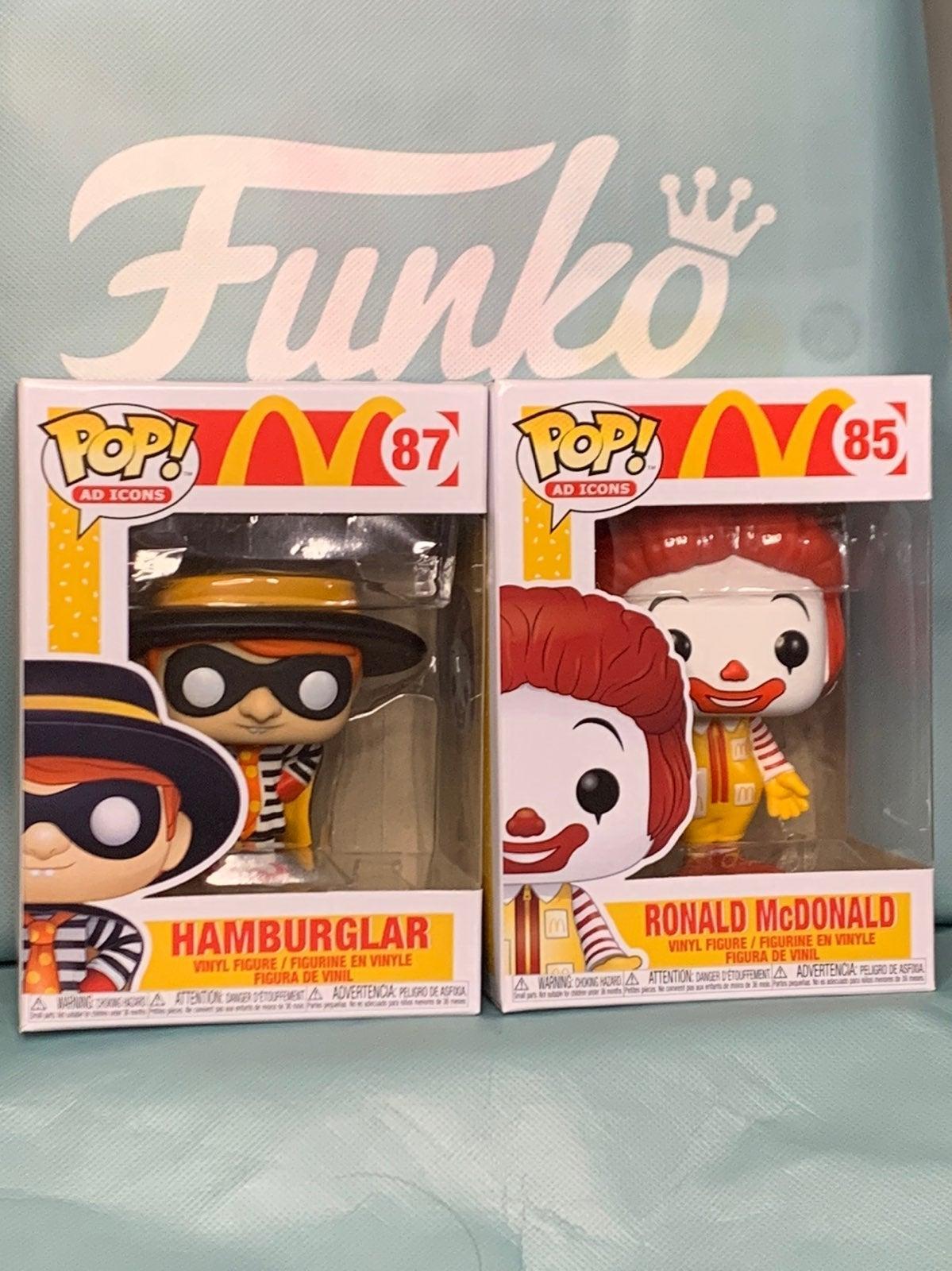 McDonaldos Funko Pop Bundle