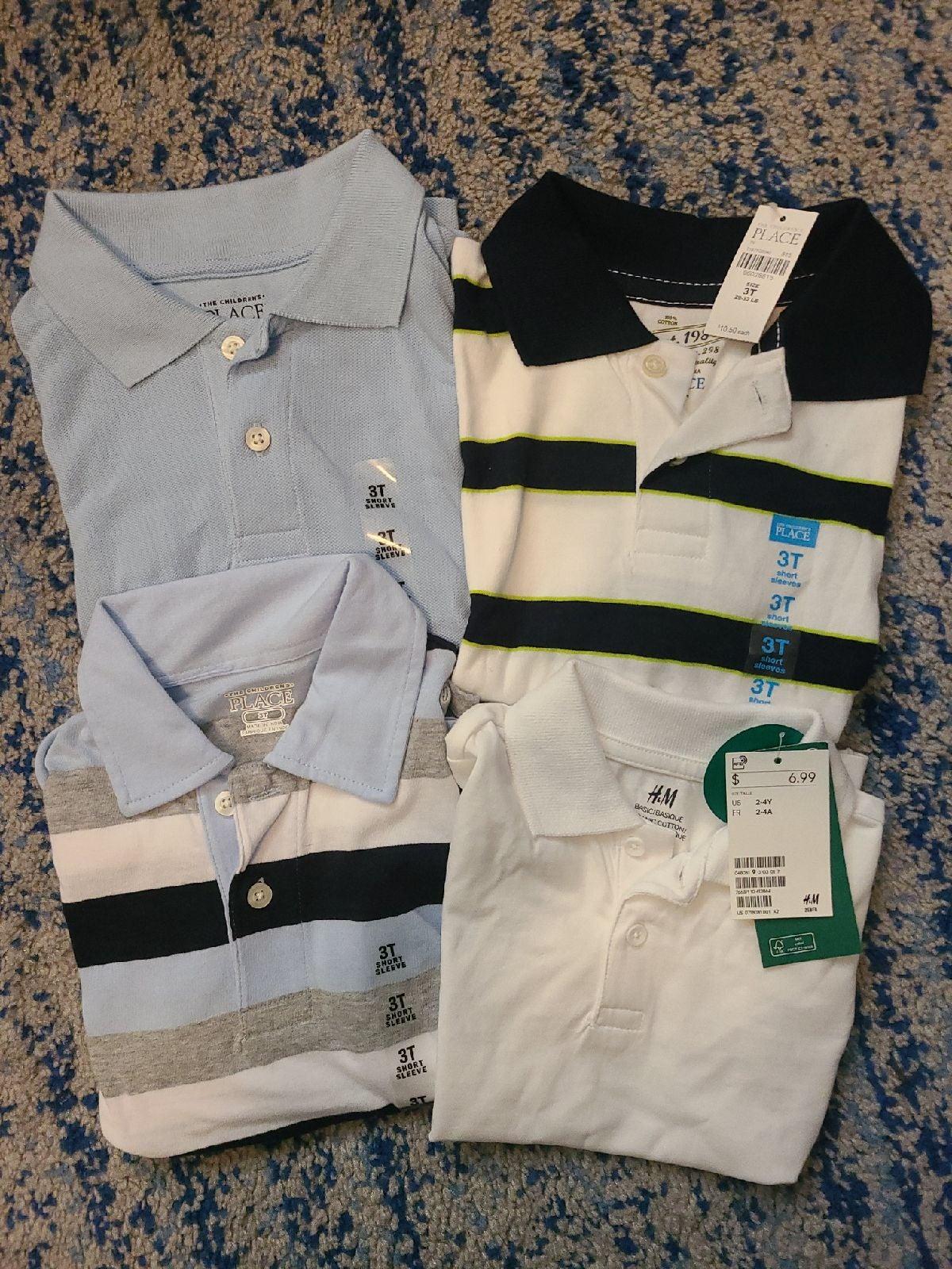 3T boys shirt bundle