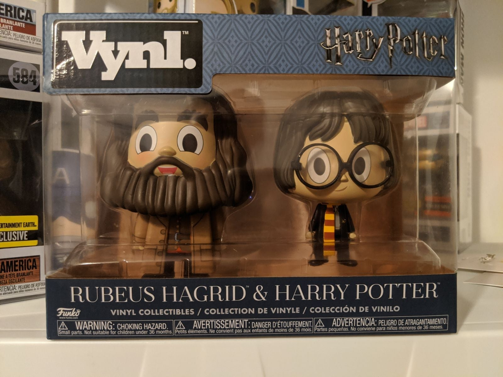 Funko Pop Vynl Harry Potter & Hagrid