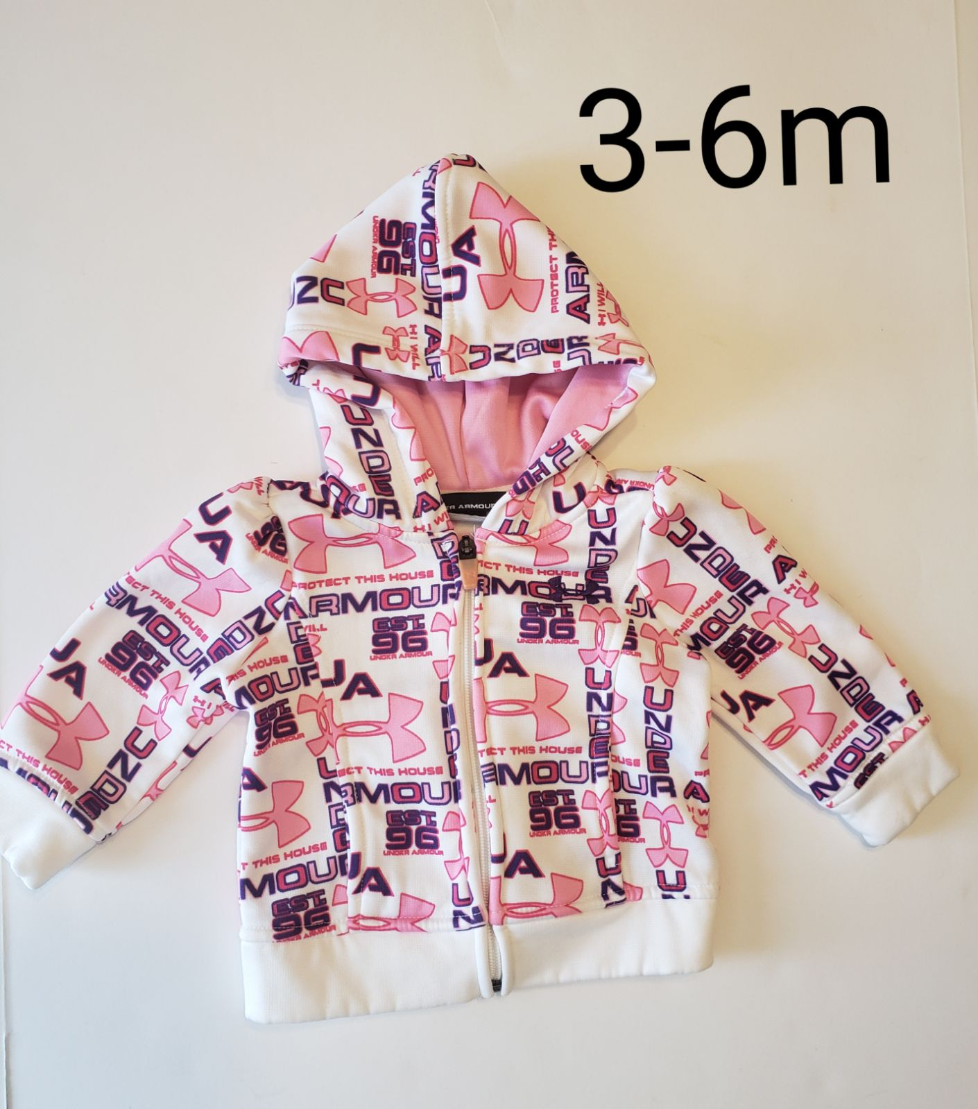 EUC 3-6m Under Armour jacket