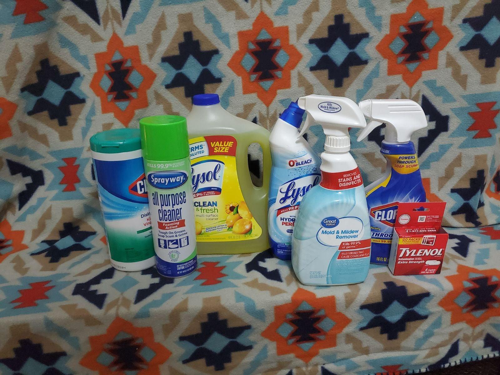 Household supply Bundle of 7
